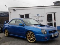 USED 2002 02 SUBARU IMPREZA 2.0 WRX STI TYPE UK 4d 265 BHP