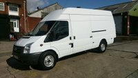 USED 2012 12 FORD TRANSIT 2.2 350 H/R 1d 124 BHP 1 OWNER X ATS TYERS  JUMBO TRANSIT ////