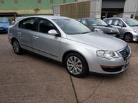 2009 VOLKSWAGEN PASSAT 2.0 BLUEMOTION TDI 4d 109 BHP £SOLD