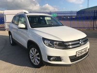 2014 VOLKSWAGEN TIGUAN 2.0 MATCH TDI BLUEMOTION TECHNOLOGY 5d 139 BHP £12700.00