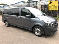 USED 2016 16 MERCEDES-BENZ VITO 2.1 114 BLUETEC TOURER PRO 5d 136 BHP EXTRA LONG HISTORY-1 OWNER-BLUETOOTH-ISOFIX