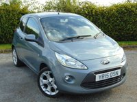 USED 2015 15 FORD KA 1.2 ZETEC 3d NATIONWIDE DELIVERY AVAILABLE
