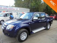 USED 2008 08 MAZDA BT-50 2.5 4X4 TS2 D/C 1d 141 BHP *2 OWNERS*