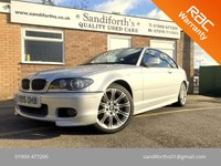 2005 BMW 3 SERIES 3.0 330CD M SPORT 330d 2d AUTO 202 BHP 7 SERVICES, FULL BLACK LEATHER £3990.00