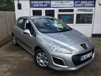 USED 2013 62 PEUGEOT 308 1.6 ACCESS 5d 120 BHP EXTREMELY LOW MILEAGE 9517 MILES FSH  ONE FAMILY OWNER  EXCELLENT CONDITION
