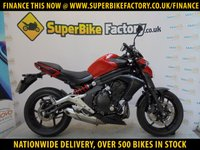 USED 2013 13 KAWASAKI ER-6F  ALL TYPES OF CREDIT ACCEPTED OVER 500 BIKES IN STOCK