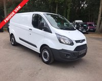 USED 2014 14 FORD TRANSIT CUSTOM 2.2 310/100 FRIDGE VAN Fridge Van, One Owner Vehicle, Full Service History
