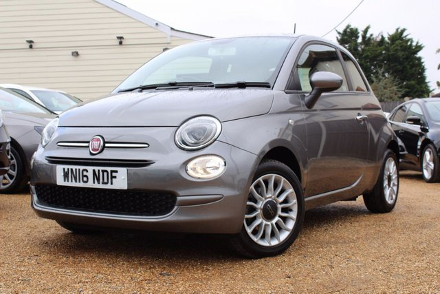 View our 2016 16 FIAT 500 1.2 POP STAR 3d 69 BHP