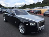 USED 2015 65 ROLLS-ROYCE GHOST 6.6 V12 Series 2 564 BHP Linen leather, rear Theatre, panoramic glass roof, 360 cameras. Service Inclusive Plan