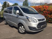 USED 2017 67 FORD TOURNEO CUSTOM L2 LIMITED TDCI AUTOMATIC 9 SEAT Automatic, 9 Seat, 67 Plate, Delivery Mileage