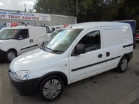 2010 VAUXHALL COMBO 1.7 *FULL VAUXHALL HISTORY*11 SERVICE STAMPS*2 OWNERS* £1995.00