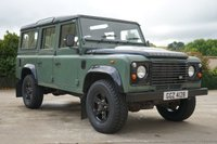 USED 2008 LAND ROVER 110 Green & Black Custom Defender 7 SEATS, 'BLACK EDITION' CONTRAST ROOF AND WHEEL ARCHES, NEW TYRES, BLACK BOOST ALLOYS