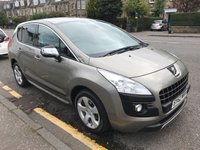 USED 2012 62 PEUGEOT 3008 1.6 HDI STYLE 5d 112 BHP PRICE INCLUDES A 6 MONTH AA WARRANTY DEALER CARE EXTENDED GUARANTEE, 1 YEARS MOT AND A OIL & FILTERS SERVICE. 12 MONTHS FREE BREAKDOWN COVER