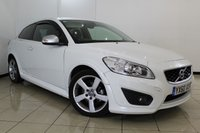 USED 2010 60 VOLVO C30 1.6 D2 R-DESIGN 3DR 113 BHP SERVICE HISTORY + HEATED LEATHER SEATS + CLIMATE CONTROL + CRUISE CONTROL + MULTI FUNCTION WHEEL + RADIO/CD + 17 INCH ALLOY WHEELS