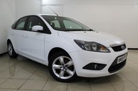 USED 2010 59 FORD FOCUS 1.8 ZETEC 5DR 125 BHP AIR CONDITIONING + RADIO/CD + ELECTRIC WINDOWS + ELECTRIC MIRRORS + 16 INCH ALLOY WHEELS