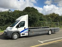 2012 PEUGEOT BOXER 440 3.0HDI 155 BHP LOW CHASSIS SPECIALIST SKELETON IDEAL BOAT CARRIER £9995.00