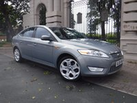 USED 2008 08 FORD MONDEO 2.0 TITANIUM X TDCI 5d 140 BHP ***PART LEATHER***HEATED SEATS***CRUISE CONTROL**