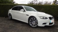 2008 BMW M3 4.0 M3 4d AUTO 420 BHP PRISTINE CONDITION THROUGHOUT FINISHED IN STUNNING WHITE WITH RED LEATHER INTERIOR  £SOLD
