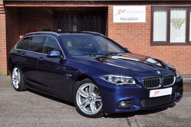 2015 15 BMW 5 SERIES 3.0 530D M SPORT TOURING 5d AUTO 255 BHP