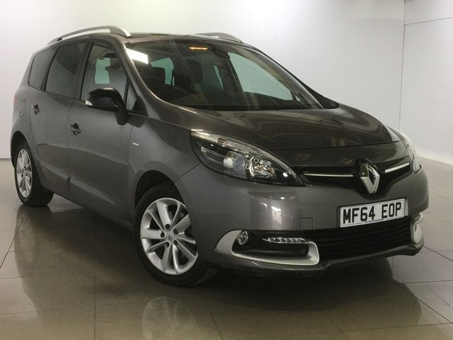 View our 2014 64 RENAULT SCENIC 1.5 GRAND LIMITED ENERGY DCI S/S 5d 110 BHP