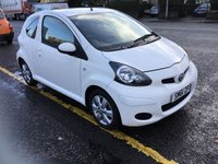 USED 2012 61 TOYOTA AYGO 1.0 VVT-I GO 3d 67 BHP OUR  PRICE INCLUDES A 6 MONTH AA WARRANTY DEALER CARE EXTENDED GUARANTEE, 1 YEARS MOT AND A OIL & FILTERS SERVICE. 6 MONTHS FREE BREAKDOWN COVER.   CALL US NOW FOR MORE INFORMATION OR TO BOOK A TEST DRIVE ON 01315387070 !! !! LIKE AND SHARE OUR FACEBOOK PAGE !!