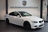 USED 2011 61 BMW M3 4.0 M3 2DR AUTO 415 BHP + FULL BLACK LEATHER INTERIOR + FULL BMW SERVICE HISTORY + PRO SATELLITE NAVIGATION + BLUETOOTH + HEATED SPORT SEATS WITH MEMORY + XENON LIGHTS + CRUISE CONTROL + PARKING SENSORS + 19 INCH ALLOY WHEELS +