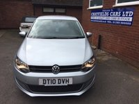 USED 2010 10 VOLKSWAGEN POLO 1.6 SEL TDI 3d 89 BHP £30 ROAD TAX, 5 SERVICE STAMPS