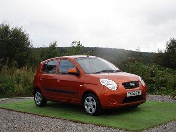 2008 KIA PICANTO 1.1 2 5d 65 BHP £1900.00