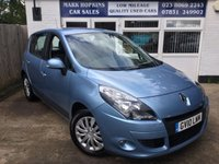 USED 2010 10 RENAULT SCENIC 1.5 EXPRESSION DCI FAP EDC 5d AUTO 110 BHP 17955 MILES ONLY FSH ONE LADY OWNER EXCELLENT CONDITION