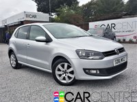 USED 2011 61 VOLKSWAGEN POLO 1.2 MATCH 5d 59 BHP 1 PREVIOUS OWNER + FSH