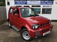 USED 2010 10 SUZUKI JIMNY 1.3 SZ3 3d 85 BHP 27265 MILES FSH  ONE FAMILY OWNER  EXCELLENT CONDITION
