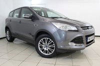 USED 2014 14 FORD KUGA 2.0 TITANIUM TDCI 2WD 5DR 138 BHP FORD SERVICE HISTORY + HALF LEATHER SEATS + CLIMATE CONTROL + CRUISE CONTROL + MULTI FUNCTION WHEEL + BLUETOOTH + 17 INCH ALLOY WHEELS
