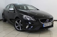 USED 2014 64 VOLVO V40 1.6 D2 R-DESIGN 5DR 113 BHP FULL SERVICE HISTORY + HALF LEATHER SEATS + CLIMATE CONTROL + BLUETOOTH + MULTI FUNCTION WHEEL + RADIO/CD + 17 INCH ALLOY WHEELS