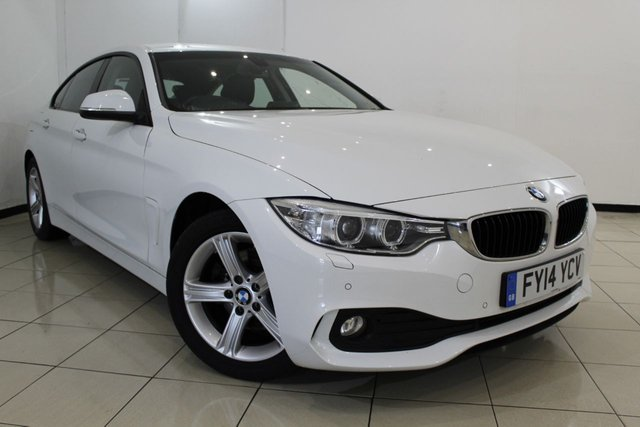 View our 2014 14 BMW 4 SERIES 2.0 420D SE GRAN COUPE 4DR 181 BHP