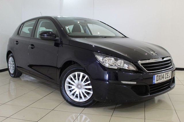 View our 2014 14 PEUGEOT 308 1.6 HDI ACCESS 5DR 92 BHP