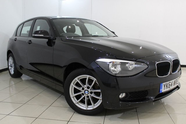 View our 2014 64 BMW 1 SERIES 1.6 114D SE 5DR 94 BHP