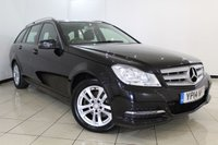 USED 2014 14 MERCEDES-BENZ C CLASS 2.1 C220 CDI EXECUTIVE SE PREMIUM 5DR 168 BHP FULL MERCEDES SERVICE HISTORY + HEATED BLACK LEATHER SEATS + SAT NAVIGATION + BLUETOOTH + REVERSE CAMERA + PARKING SENSORS + CLIMATE CONTROL + 16 INCH ALLOY WHEELS