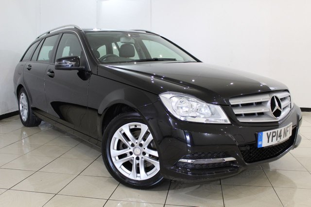 View our 2014 14 MERCEDES-BENZ C CLASS 2.1 C220 CDI EXECUTIVE SE PREMIUM 5DR 168 BHP