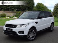 USED 2016 66 LAND ROVER RANGE ROVER SPORT 3.0 SDV6 HSE DYNAMIC 5d AUTO 306 BHP VAT QUALIFYING  VAT QUALIFYING  LOW MILEAGE AUTOMATIC PANORAMIC SUNROOF BLACK CONTRAST ROOF