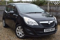 USED 2010 60 VAUXHALL MERIVA 1.4 EXCLUSIV 5d 98 BHP Free 12  month warranty
