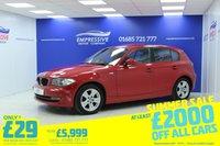 2009 BMW 1 SERIES 2.0 118D SE 5d 141 BHP £5999.00