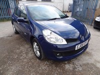 2008 RENAULT CLIO 1.5 EXPRESSION DCI 5d 68 BHP £2250.00
