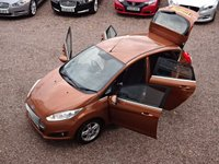 USED 2013 63 FORD FIESTA 1.0 ZETEC 5d 99 BHP ONE OWNER, FULL FORD SERVICE HISTORY