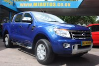 2014 FORD RANGER 2.2 LIMITED 4X4 DCB TDCI 148 BHP £14495.00