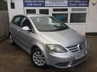 USED 2007 07 VOLKSWAGEN GOLF PLUS 1.9 LUNA TDI 5d 103 BHP 76K FSH  JUST ONE LADY OWNER   EXCELLENT CONDITION