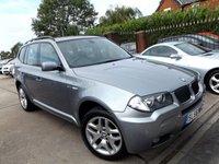 2006 BMW X3 2.0 D M SPORT 5d 148 BHP £7495.00