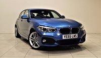 USED 2015 65 BMW 1 SERIES 1.5 116D M SPORT 5d 114 BHP SAT NAV + DAB + AUX + BLUETOOTH + SERVICE HISTORY