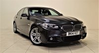 USED 2014 14 BMW 5 SERIES 2.0 520D M SPORT 4d AUTO 181 BHP + EXCELLENT CONDITION IN/OUT