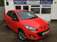 USED 2013 63 MAZDA 2 1.3 VENTURE EDITION 5d 83 BHP **20K FSH  ONE FAMILY OWNER   STUNNING RED WITH PRIVACY GLASS