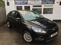 USED 2011 11 FORD FOCUS 1.6 TITANIUM 5d 99 BHP 78K FSH TWO OWNERS HIGH SPEC MODEL EXCELLENT CONDITION
